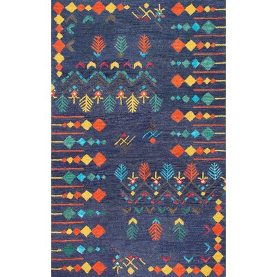 Phillip Hand-Tufted Area Rug Rug Size: Rectangle 76 x 96