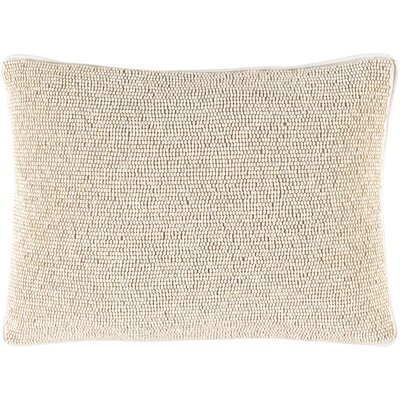Attie 100% Cotton Lumbar Pillow Cover Color: Neutral