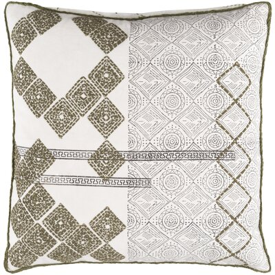 Jasmyn Throw Pillow Size: 22 H x 22 W x 5 D