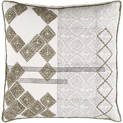 Jasmyn Throw Pillow Size: 18 H x 18 W x 1 D