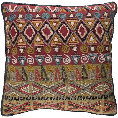 Nyah Pillow Cover Size: 18 H x 18 W x 1 D