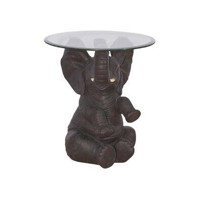 Fateh Elephant End Table