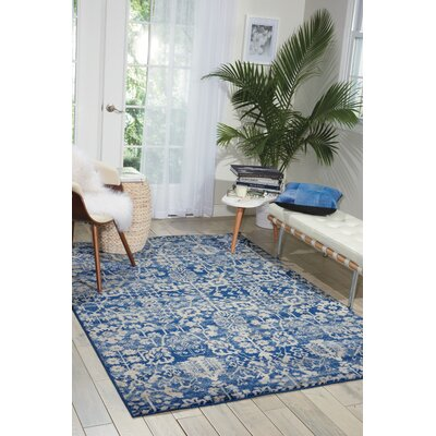 Allenvale Navy Area Rug Rug Size: Rectangle 2 x 29