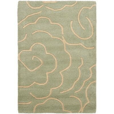 Tatyana Soft Light Blue/Ivory Area Rug Rug Size: Rectangle 2 x 3