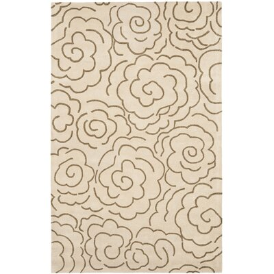 Tatyana Beige Area Rug Rug Size: Rectangle 5 x 8