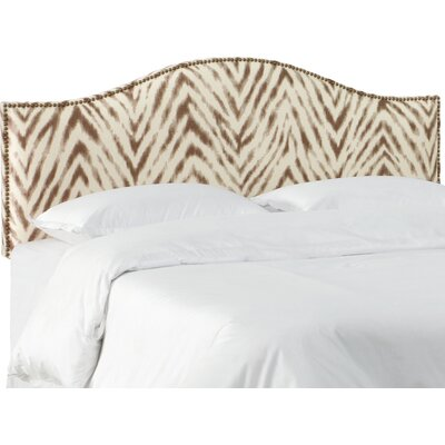 Vivek Upholstered Panel Headboard Size: King