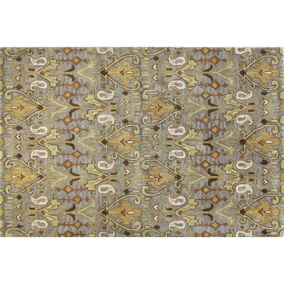 Vikram Hand-Tufted Taupe Area Rug Rug Size: Runner 26 x 8