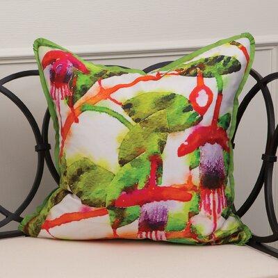 Havana Fuchsia Dupion Silk Throw Pillow