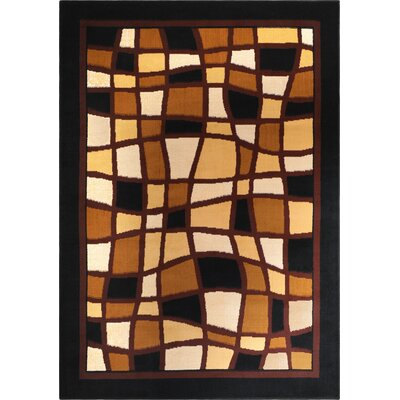 Halle 3 Piece Ebony Area Rug Set