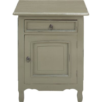 Abbad Nightstand Color: Grey