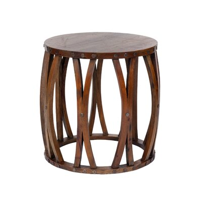 Abidi End Table Finish: Natural