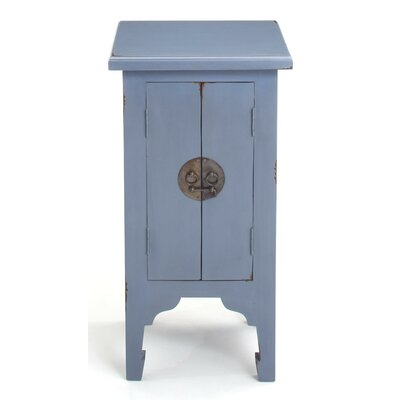 Gimora End Table Color: Blue