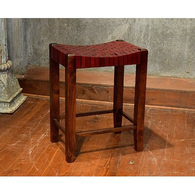 Gambino 26 Bar Stool Bar Stool Finish: Burgundy