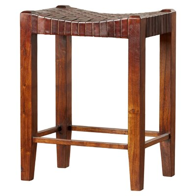 Gambino 26 Bar Stool Bar Stool Finish: Sienna Brown