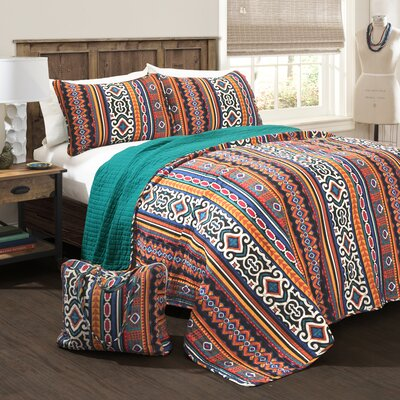 Agadir 4 Piece Quilt Set Size: King
