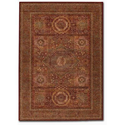SeanPaul Mamluken Burgundy Area Rug Rug Size: Rectangle 66 x 910