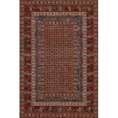 Faska Antique Red Area Rug Rug Size: 910 x 139