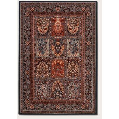 Cleveland Vintage Brown/Burgundy Area Rug Rug Size: 66 x 910