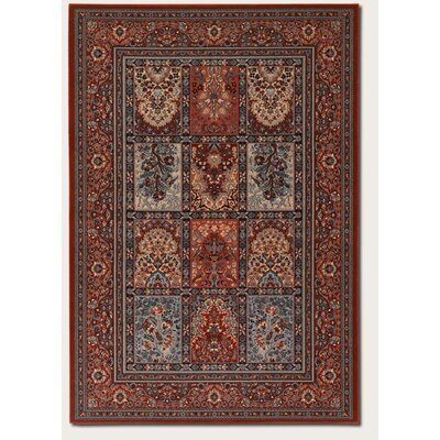 Cleveland Vintage Burgundy Area Rug Rug Size: Rectangle 53 x 76
