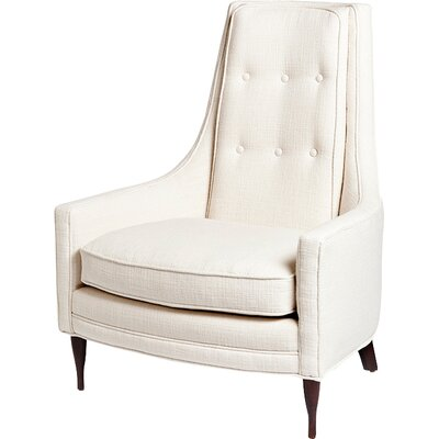 Antonio Occasional Arm Chair Finish/Color: Ivory