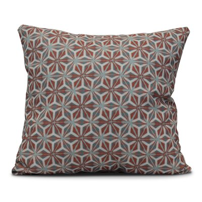 Viet Mosaic Throw Pillow Size: 20 H x 20 W, Color: Coral
