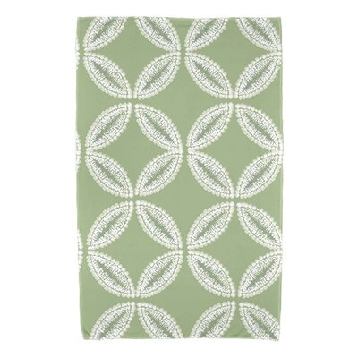 Viet Tidepool Bath Towel Color: Green
