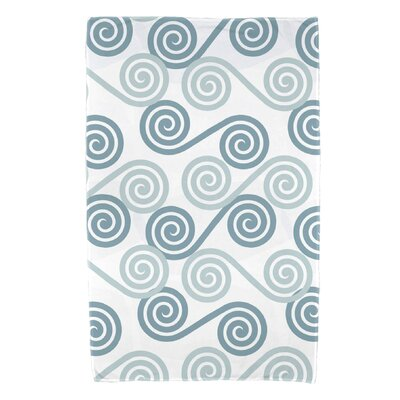 Nikkle Rip Curl Bath Towel Color: Aqua