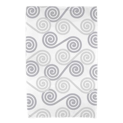 Nikkle Rip Curl Bath Towel Color: Gray