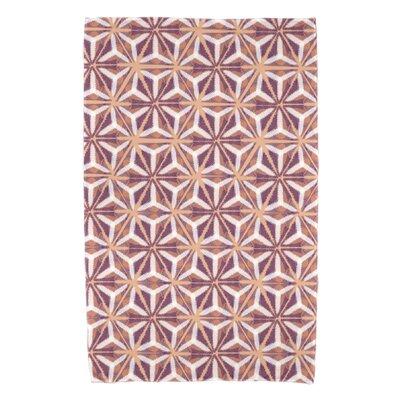 Viet Mosaic Bath Towel Color: Purple