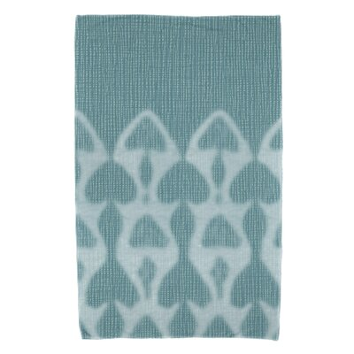 Viet Watermark Bath Towel Color: Blue