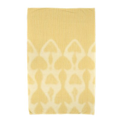 Viet Watermark Bath Towel Color: Yellow