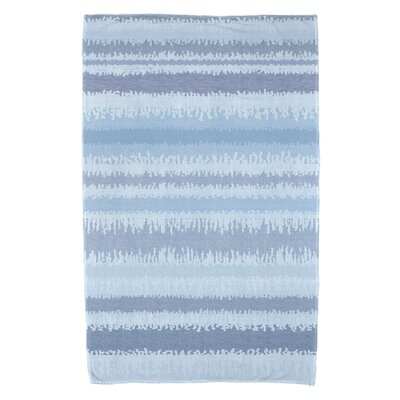 Dorazio Raya De Agua Bath Towel Color: Light Blue