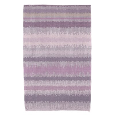 Dorazio Raya De Agua Bath Towel Color: Lavender