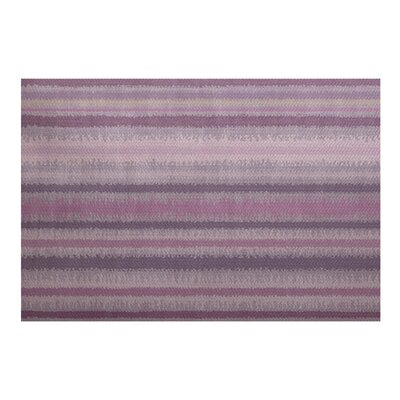 Rafia Purple Indoor/Outdoor Area Rug Rug Size: 5 x 7