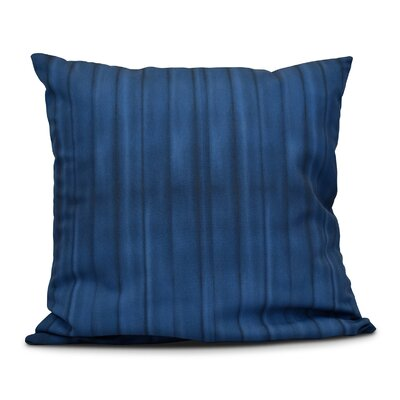 Viet Pool Throw Pillow Color: Navy Blue, Size: 26 H x 26 W