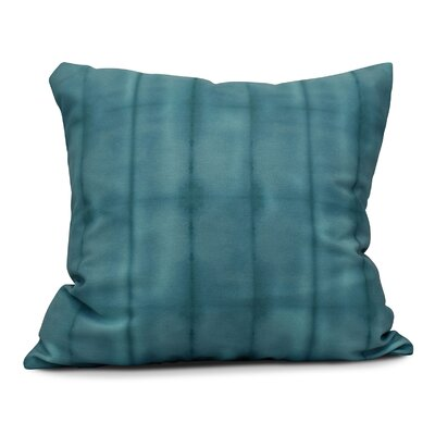 Viet Pool Throw Pillow Size: 26 H x 26 W, Color: Teal