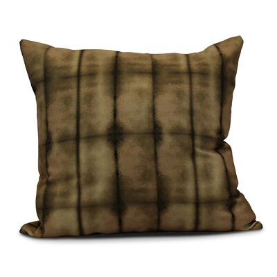 Viet Pool Throw Pillow Size: 26 H x 26 W, Color: Brown