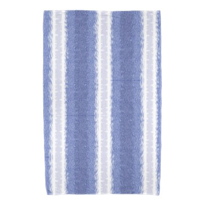 Navarro Lines Bath Towel Color: Blue