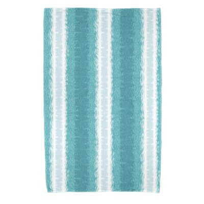 Navarro Lines Bath Towel Color: Teal