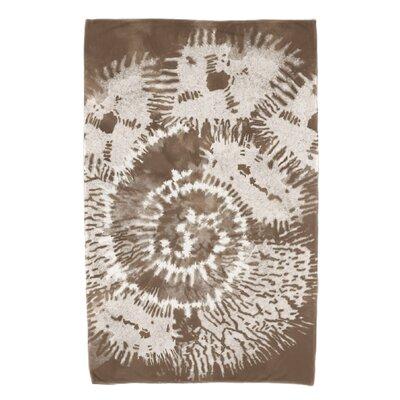 Viet Conch Beach Towel Color: Brown