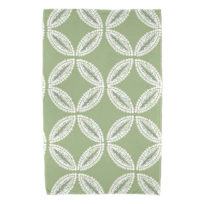Viet Tidepool Beach Towel Color: Green