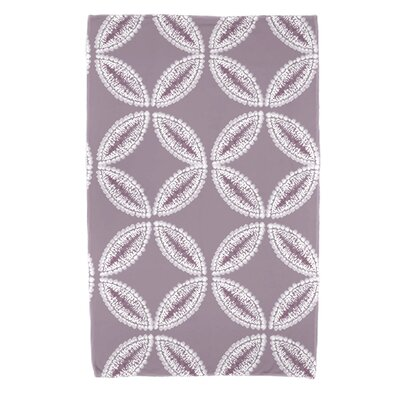 Viet Tidepool Beach Towel Color: Lavender