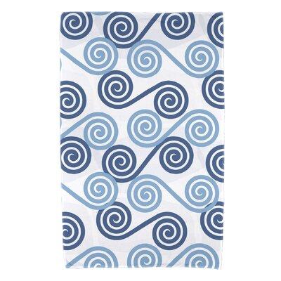 Nikkle Rip Curl Beach Towel Color: Blue