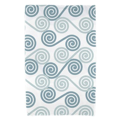 Nikkle Rip Curl Beach Towel Color: Aqua