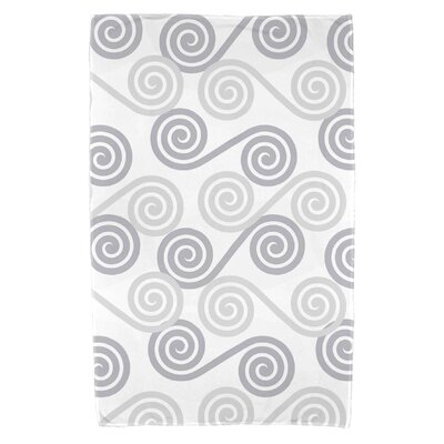Nikkle Rip Curl Beach Towel Color: Gray