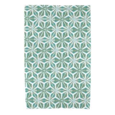 Viet Mosaic Beach Towel Color: Aqua