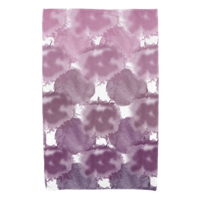 Viet Rectangle Beach Towel Color: Purple