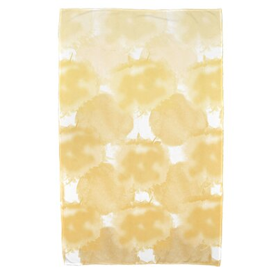 Viet Rectangle Beach Towel Color: Yellow