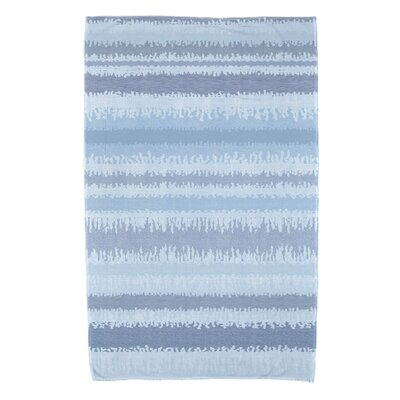 Dorazio Raya De Agua Beach Towel Color: Light Blue