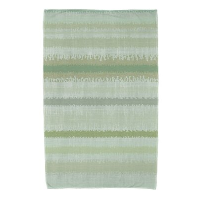 Dorazio Raya De Agua Beach Towel Color: Green